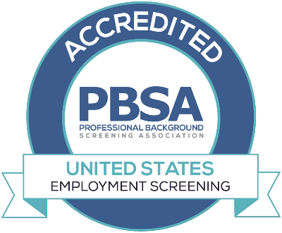 Accredited PBSA Company - Professional Background Screening Association